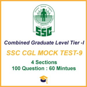SSC CGL MOCK TEST-9