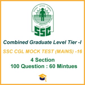 SSC CGL MOCK TEST (MAINS) -16