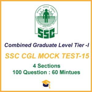 SSC CGL MOCK TEST-15