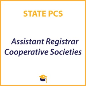 Assistant Registrar Cooperative Societies